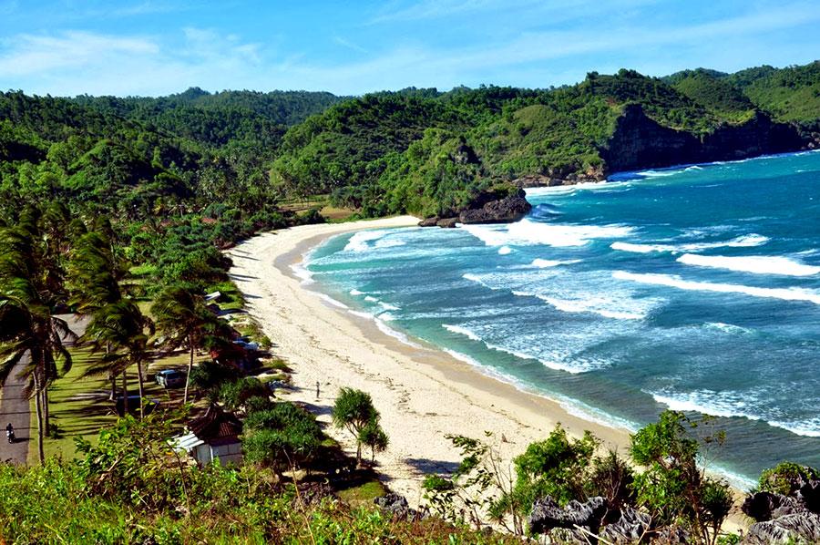 Pantai Teleng Ria Menawan Pacitan Provinsi Jawa Timur Kab