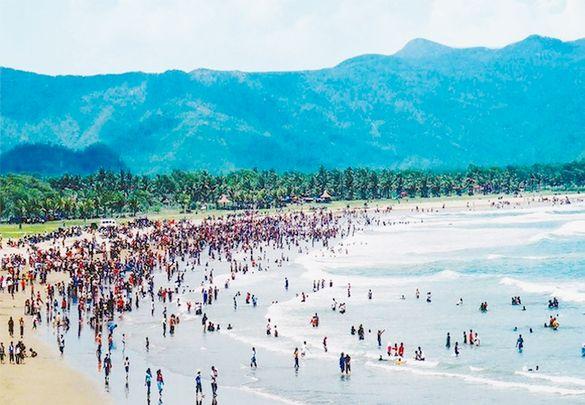 Pantai Teleng Ria Pacitan Dolan Kab