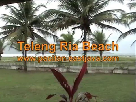 Pantai Teleng Ria Pacitan East Java Youtube Kab