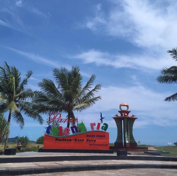 Pantai Teleng Ria Pacitan Memiliki Horizon Eksotis Hotel Harga Tiket