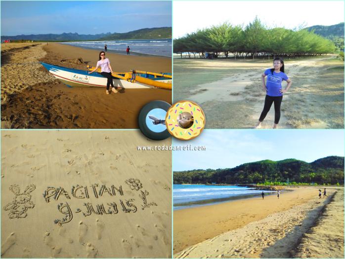Pantai Teleng Ria Pacitan Roda Roti Kab