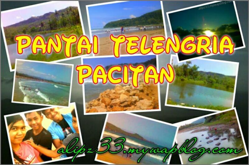 Pantai Telengria Pacitan Terdekat Kota Foto Gambar Teleng Ria Kab