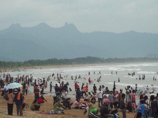 Pesisir Pantai Teleng Ria Pacitan Picture Beach Kab