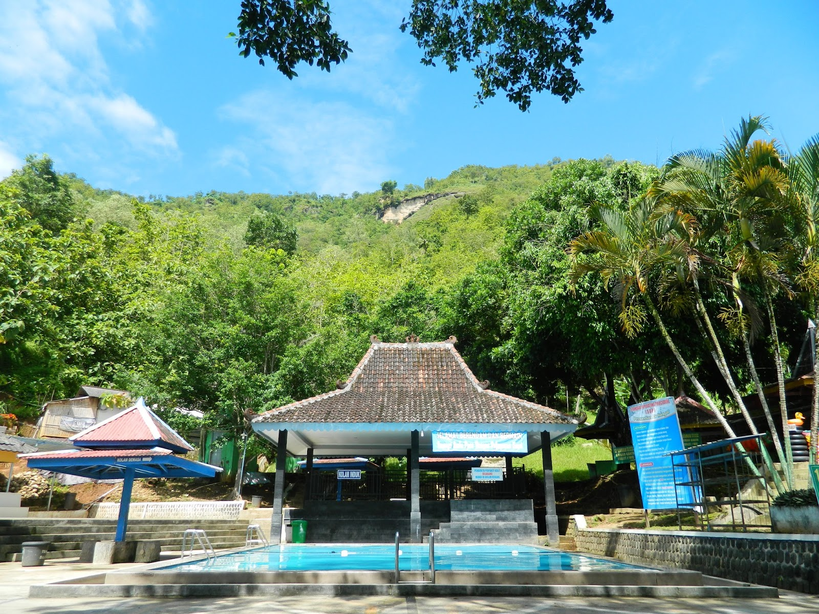 Banyu Anget Pacitan Pariwisata Tirto Husodo Tempat Rekreasi Ter Populer
