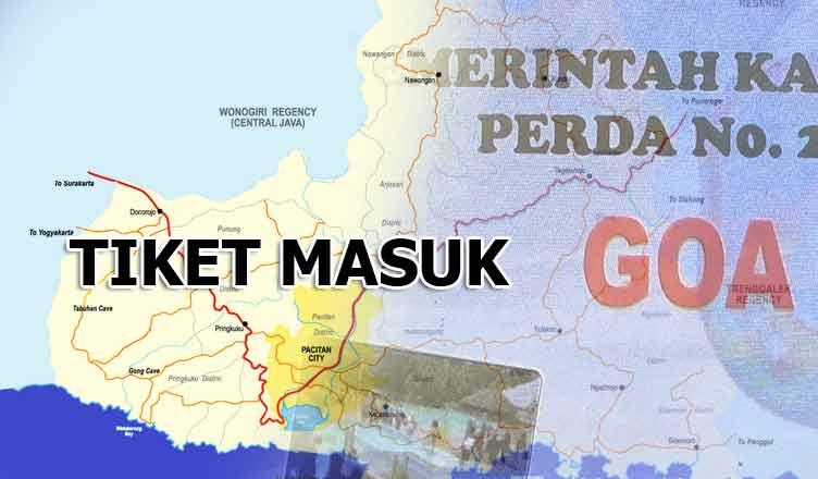 Harga Tiket Masuk Obyek Wisata Pacitan Trip Jawa Timur Pemandian