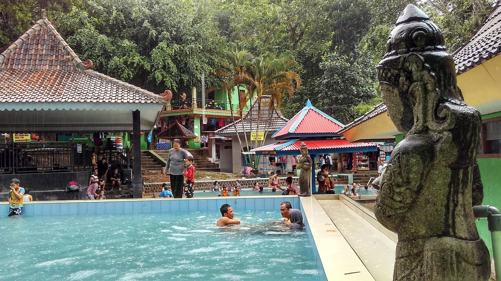 Pemandian Banyu Anget Tirto Husudo Pacitan Ombonejagad Kolam Anak Kab