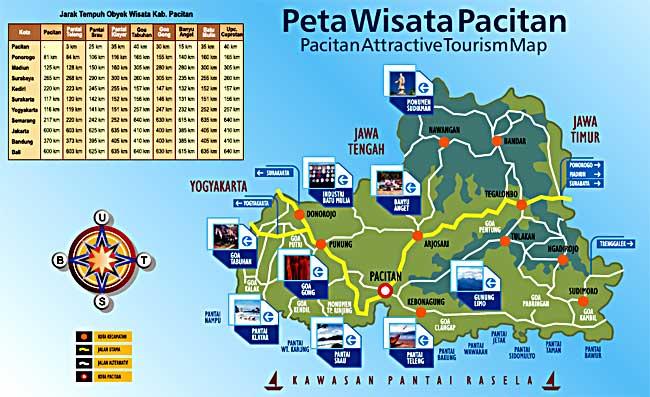 Peta Wisata Pacitanisti Advertisements Pemandian Banyu Anget Kab Pacitan