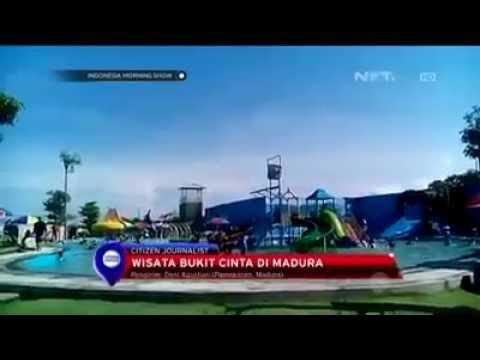 Indo Wisata Bukit Cinta Pulau Madura Pamekasan Youtube Kab