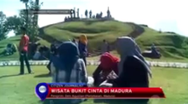 Kaget Banget Pamekasan Bukit Cinta Rutenya Foto Screeshot Youtube Lokasi