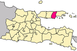 Pamekasan Regency Wikipedia Location East Java Wisata Kab