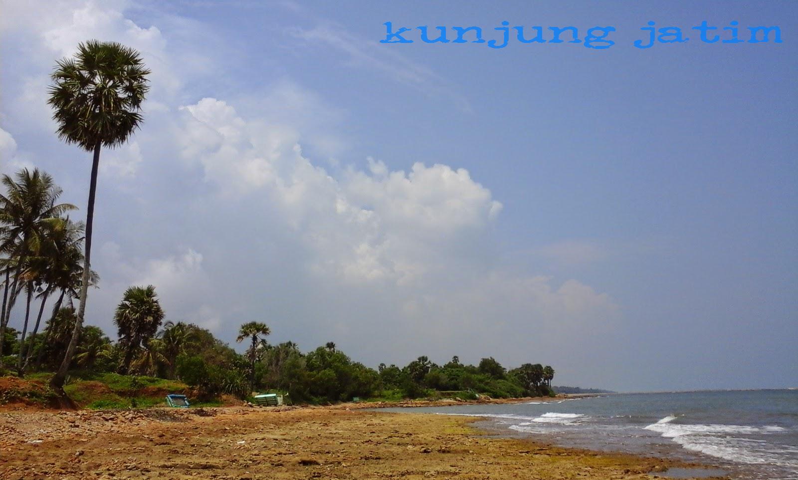 Pantai Batu Kerbuy Pamekasan Kunjung Jatim Wisata Kab