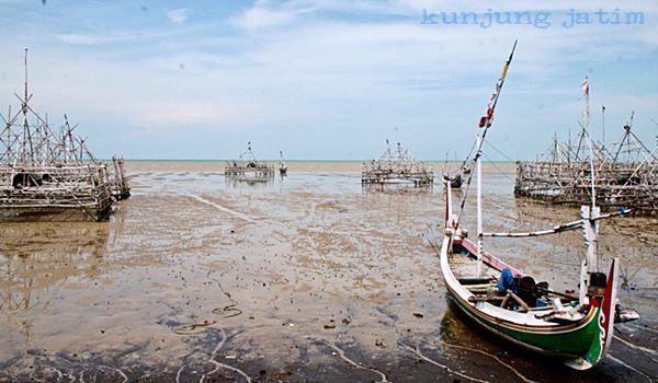 Pantai Talang Siring Pamekasan Kunjung Jatim Wisata Tepatnya Desa Montok