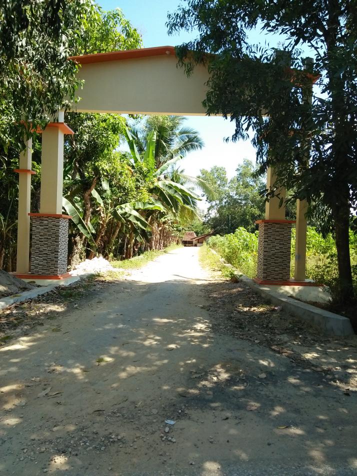 Pintu Masuk Wisata Embong Malang Terletak Dusun Secang Desa Plakpak