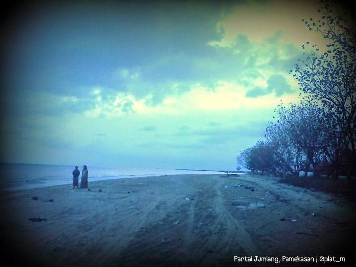 Wisata Alam Pantai Jumiang Kabupaten Pamekasan Gerbang Pulau Madura Potensi