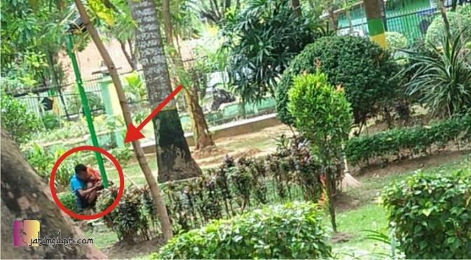 Arek Lancor Pemantauan Ketika Pos Pantau Tegak Atasnya Jatimsiber Monumen