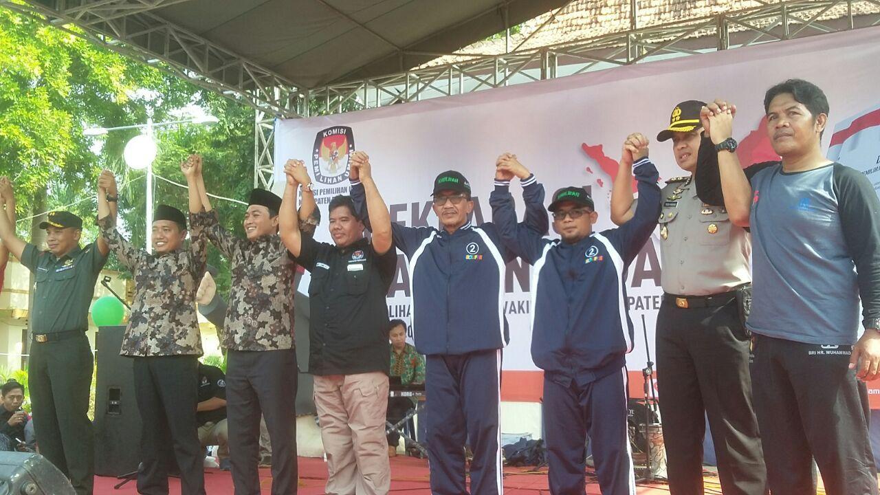 Kpu Pamekasan Gelar Deklarasi Damai Media Madura Pilkada 2018 Oleh