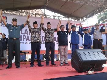 Kpu Pamekasan Gelar Deklarasi Pilkada Damai 2018 Maduratrendingnews Pemilihan Kepala