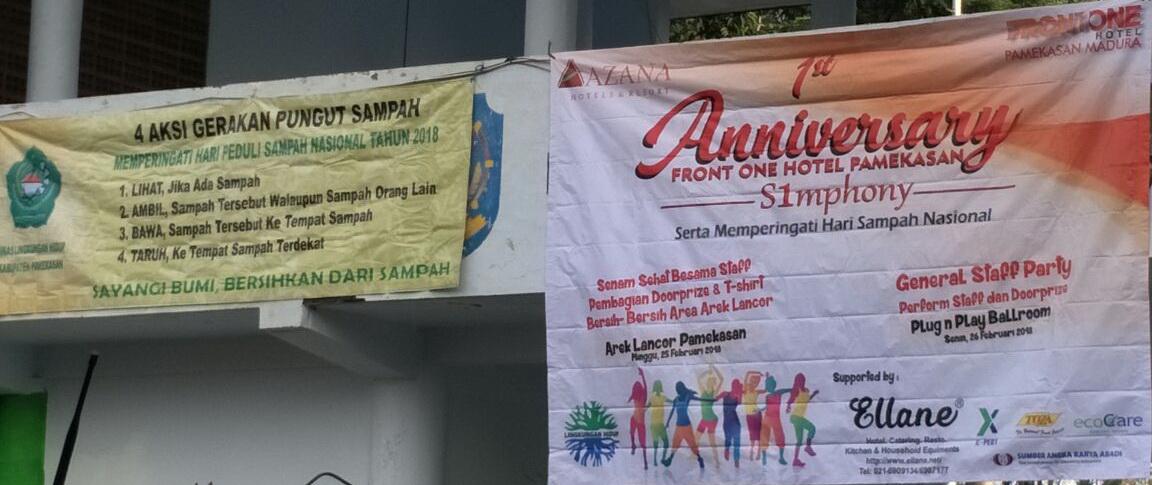 Pengumuman Dok Pribadi Monumen Nasional Arek Lancor Kab Pamekasan