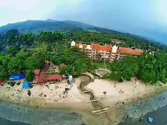 Hotel Vila Pantai Carita Wisata Kawasan Terletak Kota Pandeglang Banten