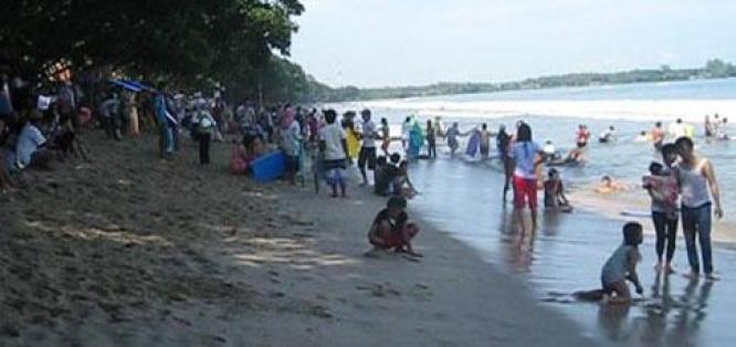 Mengenal Keindahan Pantai Carita Pandeglang Kang Mooel Kabupaten Prov Banten