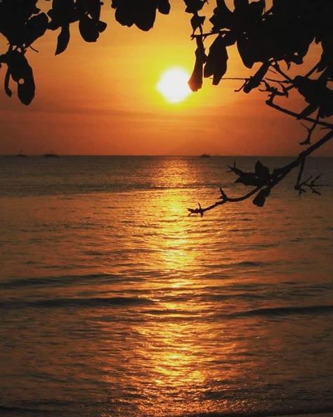 Mitos Lokasi Wisata Pantai Carita Anyer Banten Sunset Kab Pandeglang