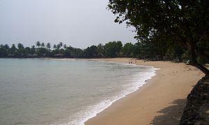 Pantai Carita Ramaloka Fm Serang Sebuah Pesisir Barat Provinsi Banten