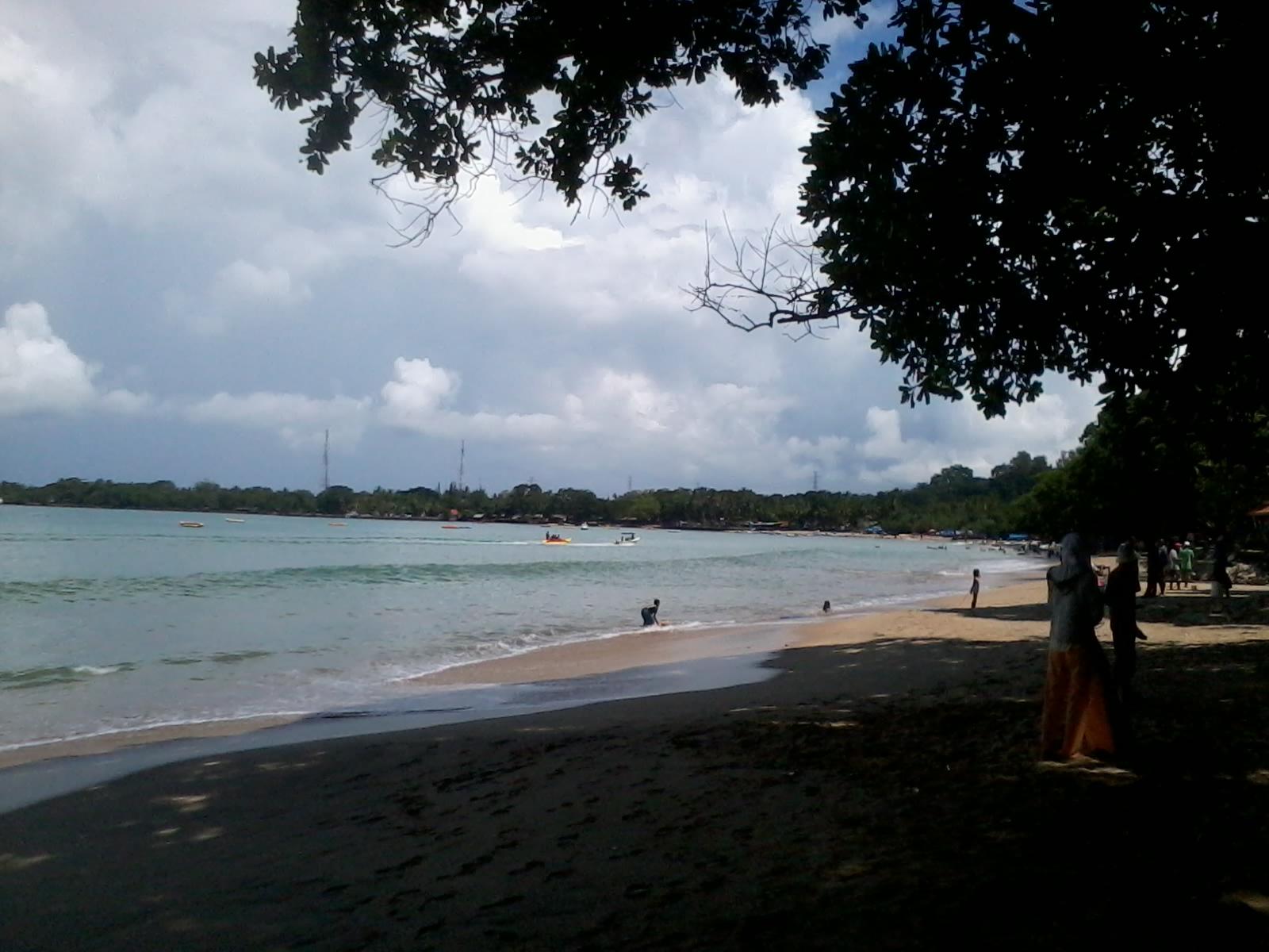 Wisata Alam Pantai Carita Sea Park Salah Satu Objek Berada