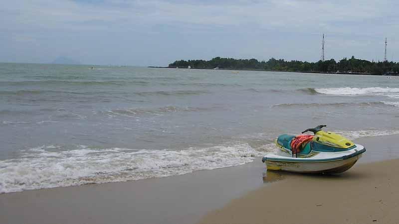 Wisata Pantai Carita Destinasi Cantik Bersejarah Banten Salah Satunya Letak