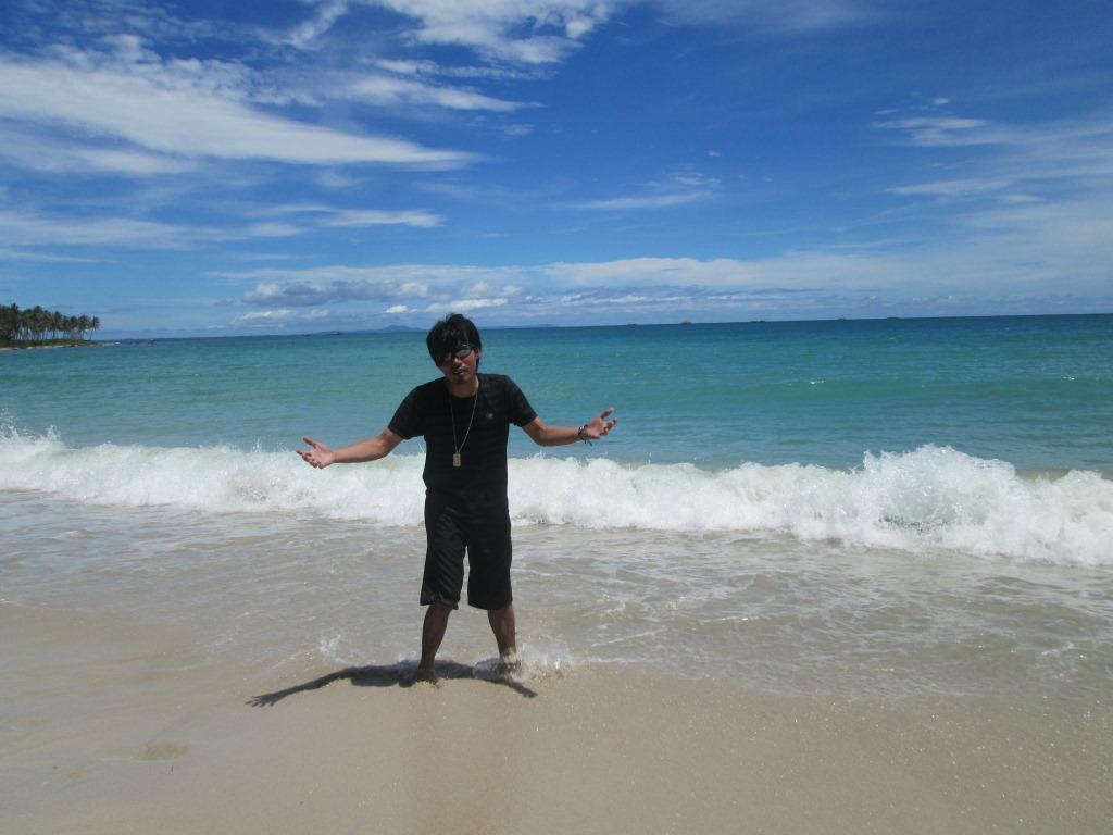 Che Demitry Ciputih Beach Lho Pantai Berada Kecamatan Sumur Kabupaten