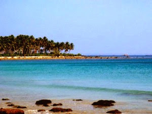 Dinas Pariwisata Pandeglang Ciputih Pantai Objek Wisata Kab