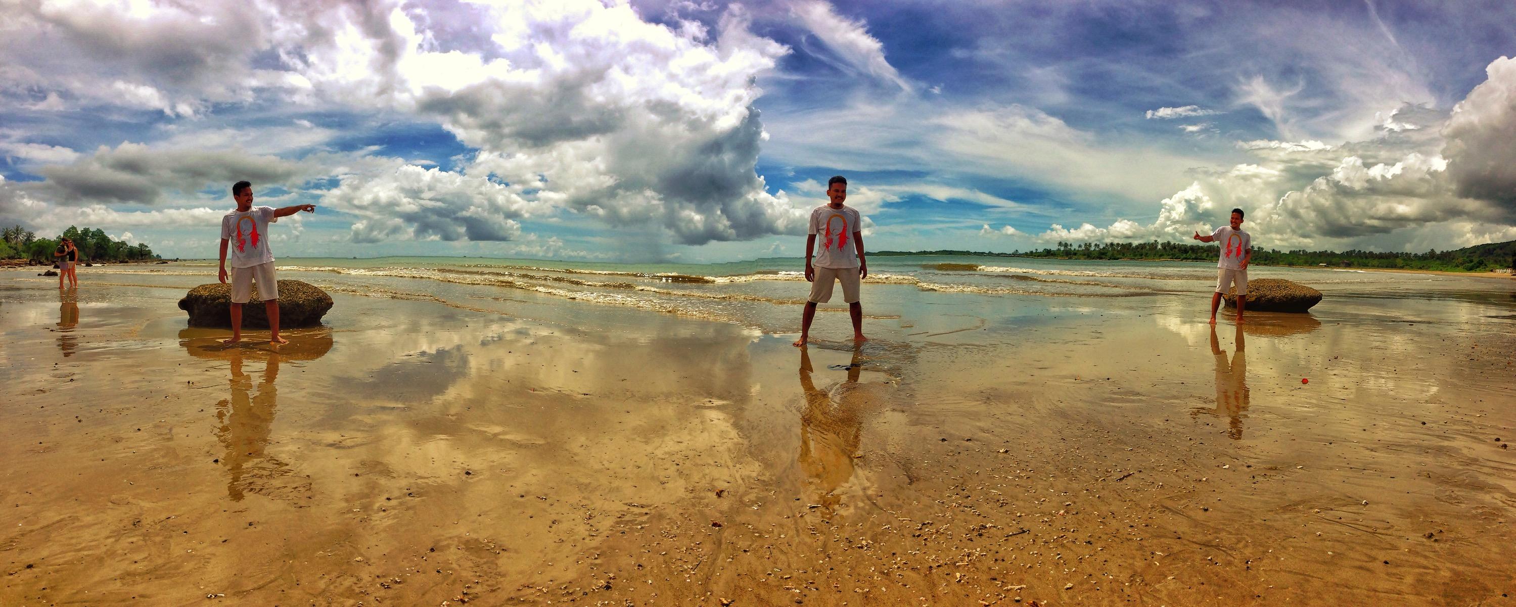 Keindahan Pantai Ciputih Pulau Mangir Ujung Kulon Beck Kab Pandeglang