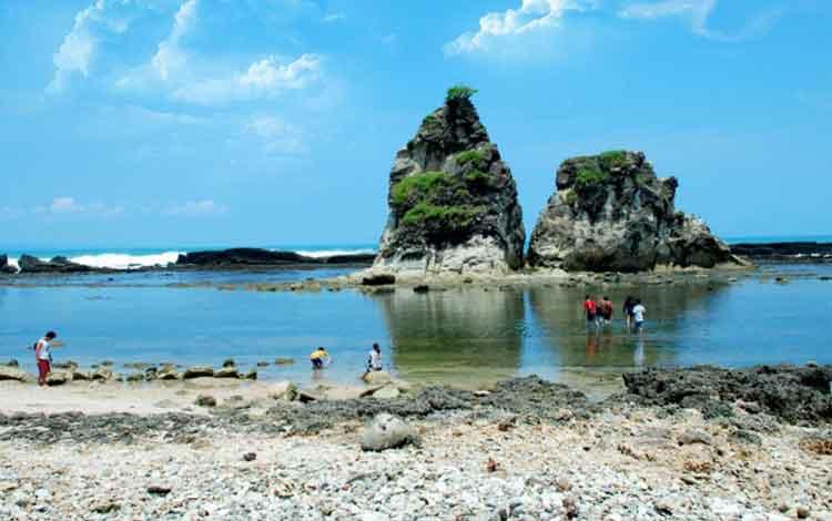 Mudik Banten Deretan Pantai Menuju Tanjung Lesung Ciputih Kab Pandeglang