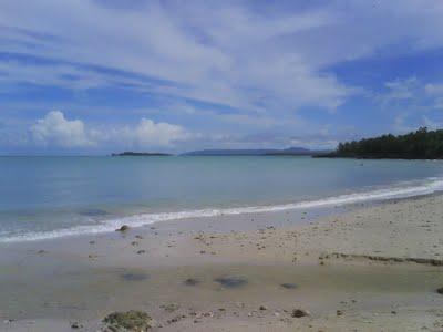 Objek Wisata Pandeglang Pariwisata Pantai Ciputih Kawasan Kabupaten Kab