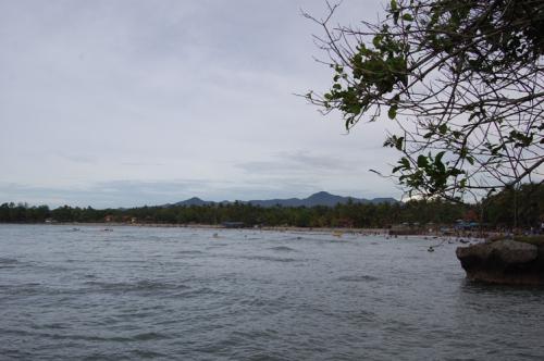 Obyek Wisata Kabupaten Pandeglang Explore Nuk Panorama Pantai Carita Sore