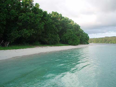 Pantai Ciputih Beach Resort Ujung Kulon Banten Telp Lokasi Peta