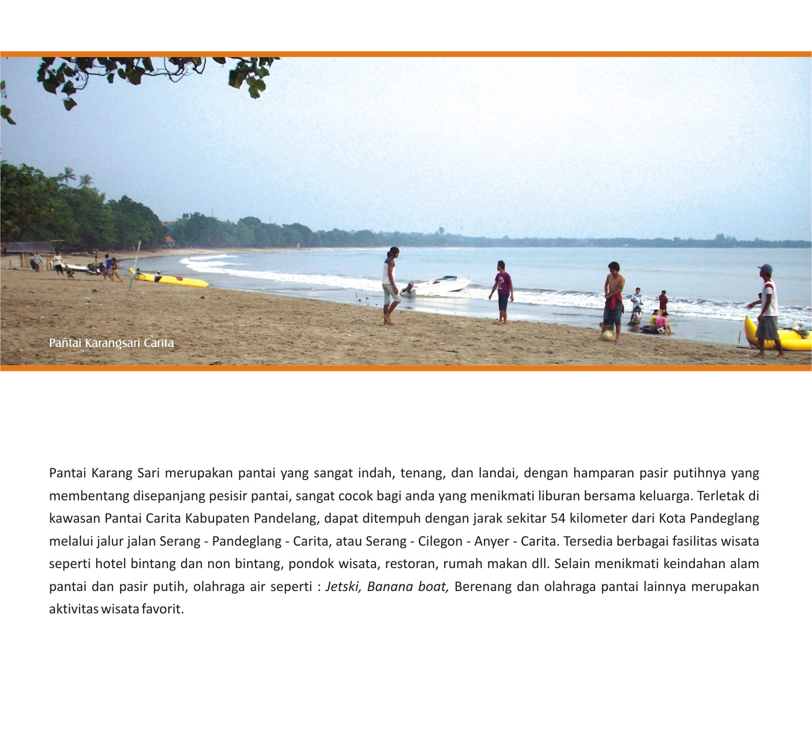 Pesona Wisata Pantai Pandeglang Kenali Daerah Cintai Negeri Click Memperbesar
