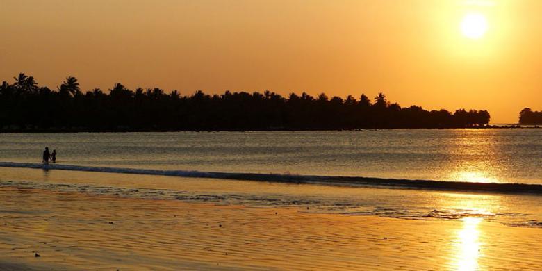 Sumur Kedamaian Ujung Banten Kompas Pantai Ciputih Kab Pandeglang