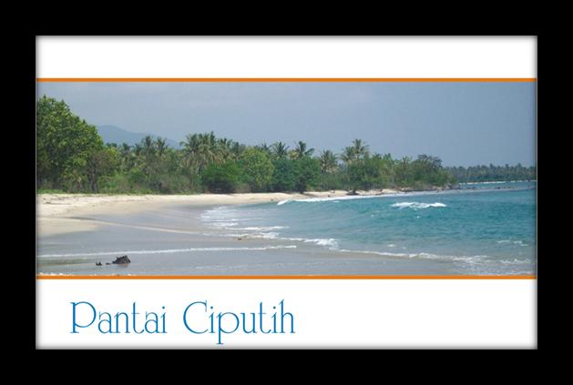 Travel Site Pandeglang Pantai Ciputih Berada Kecamatan Sumur Kabupaten Ditempuh