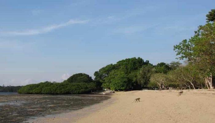 Wisata Pantai Ciputih Pandeglang Banten Bama Kab
