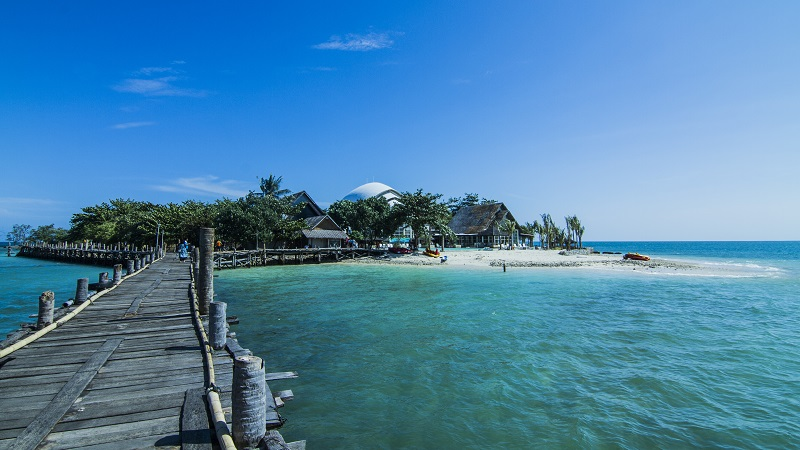 Wisatabanten Temukan Keindahan Banten Disini Wisata Pulau Umang Pantai Ciputih