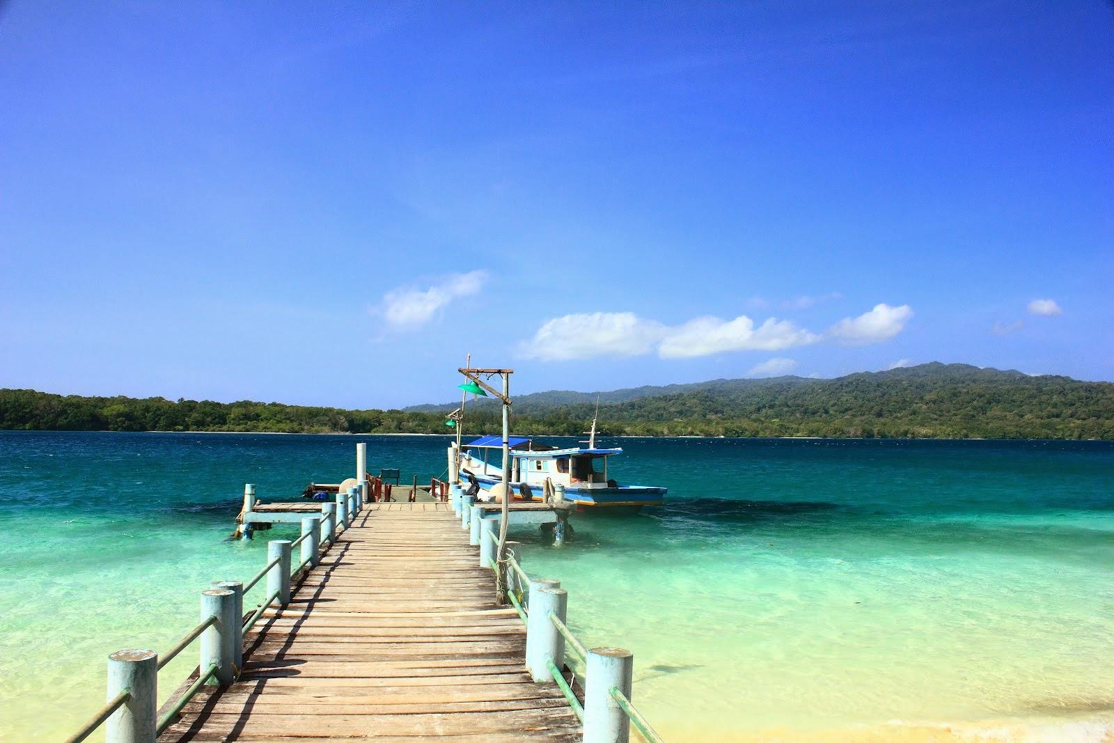 Cantiknya Pantai Pulau Peucang Ujung Kulon Tempat Wisata Panaitan Kab