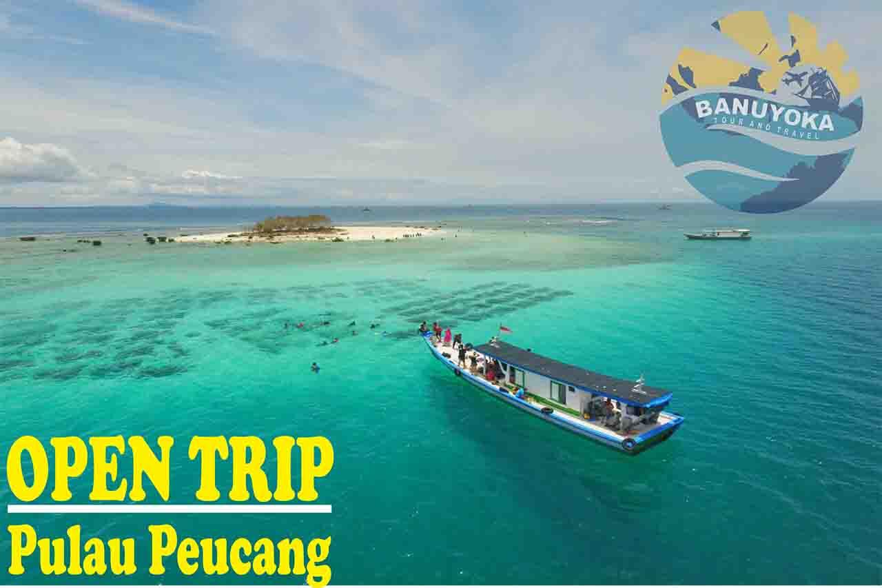 Open Trip Pulau Peucang Ujung Kulon Banuyoka Panaitan Kabupaten Pandeglang