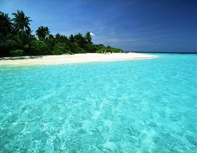 Pantai Pulau Peucang Banten Jawa Barat Selamat Datang Terletak Selat