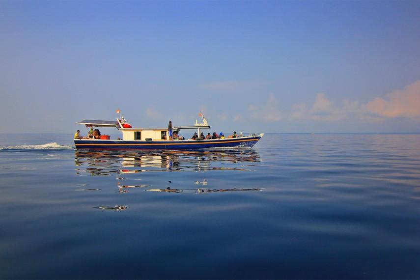 Pesona Pulau Peucang Timur Taman Nasional Ujung Kulon Letak Dimpit