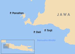 Pulau Panaitan Wikipedia Bahasa Indonesia Ensiklopedia Bebas Kab Pandeglang