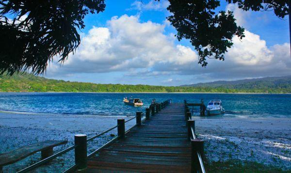Pulau Peucang Swasanadesa Underconstruction Terdapat Selat Panaitan Kabupaten Pandeglang Banten