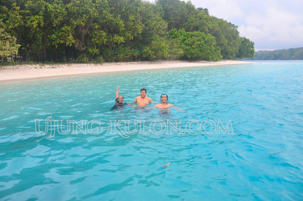 Pulau Peucang Wisata Ujung Kulon Taman Nasional Island Panaitan Kab
