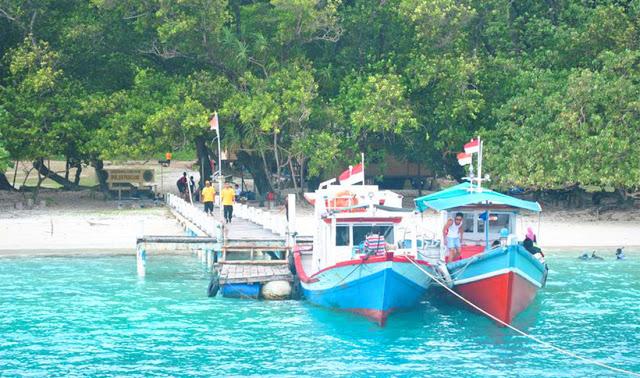 Rute Perjalanan Menuju Pulau Peucang Banten Panaitan Kab Pandeglang