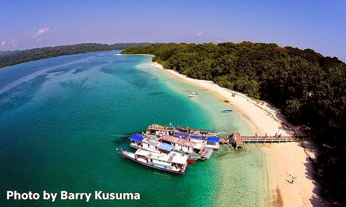 Tempat Wisata Cantik Objek Hutan Pantai Pulau Peucang Ujung Kulon