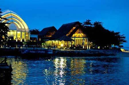 Berlibur Pulau Umang Banten Akhir Pekan Tempat Wisata Night Island